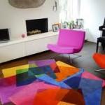 Nettoyer un tapis selon sa couleur